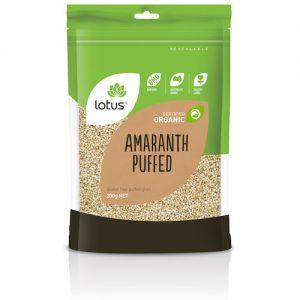 Amaranth Puffed Organic