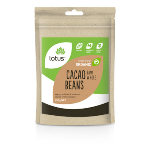 Cacao Beans Whole Raw Organic