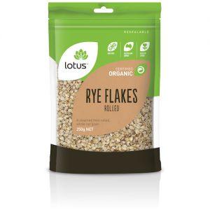Rye Flakes Rolled Organic