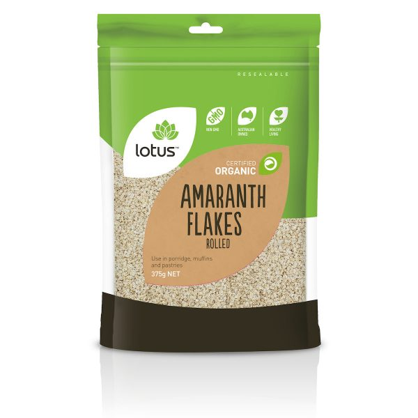 Amaranth Flakes Rolled Organic