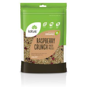 Crunch (Baked Muesli) Raspberry Organic